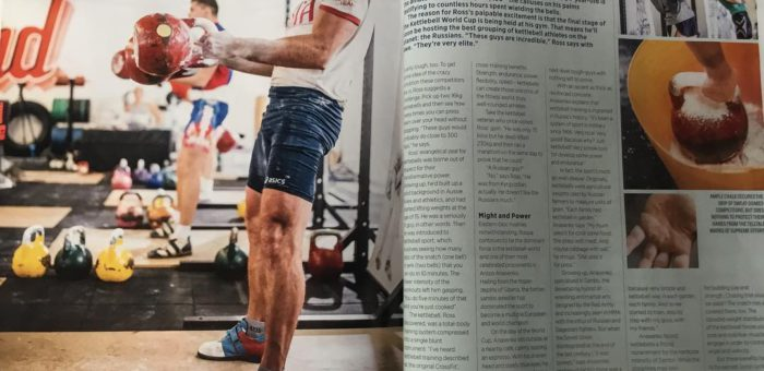 Hell's Bells in Men's Health
